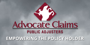 Advocate Claims Public Adjusters is a Florida Public Insurance Claim Adjuster