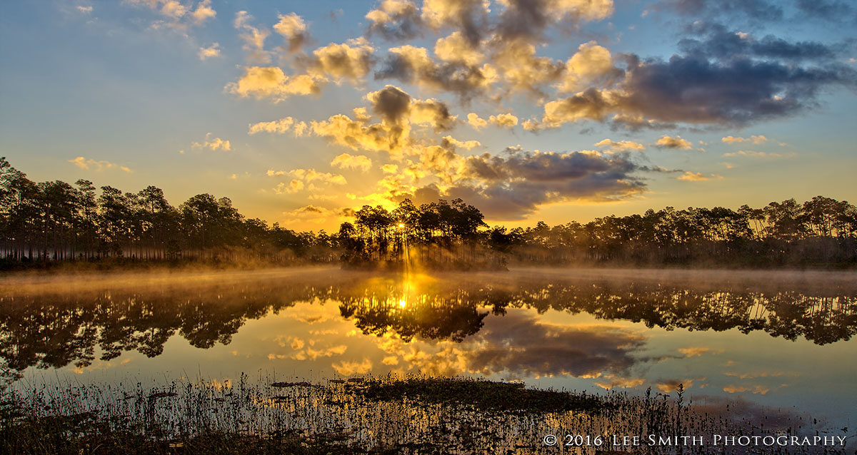 Everglades Sunrise by Lee Smith Photography