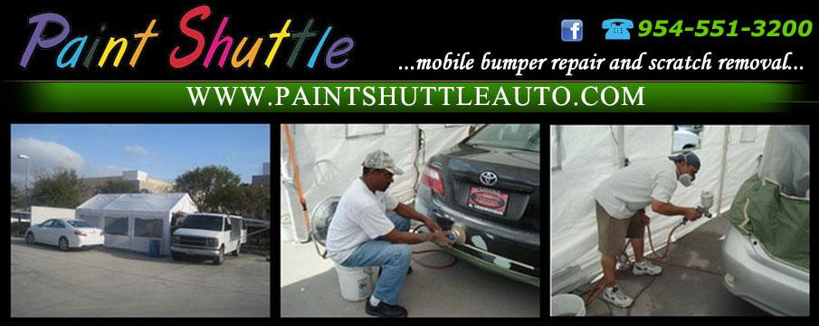 PaintShuttle Ft Lauderdale & Boca Bumper Repairs