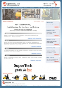 SupertTech, Inc - Atlanta Forklifts