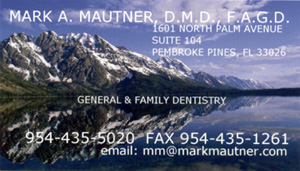 Dr. Mark A Mautner, D.M.D., F.A.G.D. - Broward Dentist & Dental Services Center