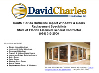 David Charles Construction - South Florida Hurricane Impact Windows & Doors