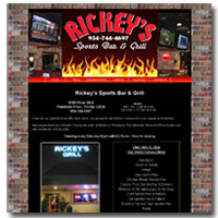 Rickeys Sports Bar & Grill - Pembroke Pines Restaurant