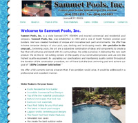 Sammet Pools is a South Florida State licensed and Insured Pool Designer Builder