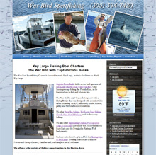 Key Largo Fishing Guide, Captain Dana Banks & Florida Keys Fishing Charter Boat - The War Bird
