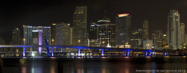 Downtown Miami at Night -