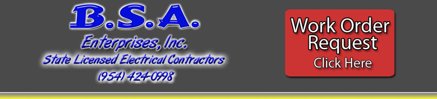South Florida Licensed Electrical Contractors & Electricians.  Our Mission is to provide honest accurate work to the best of our abilities based on the customers electrical needs.