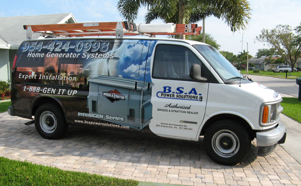 BSA-Truck