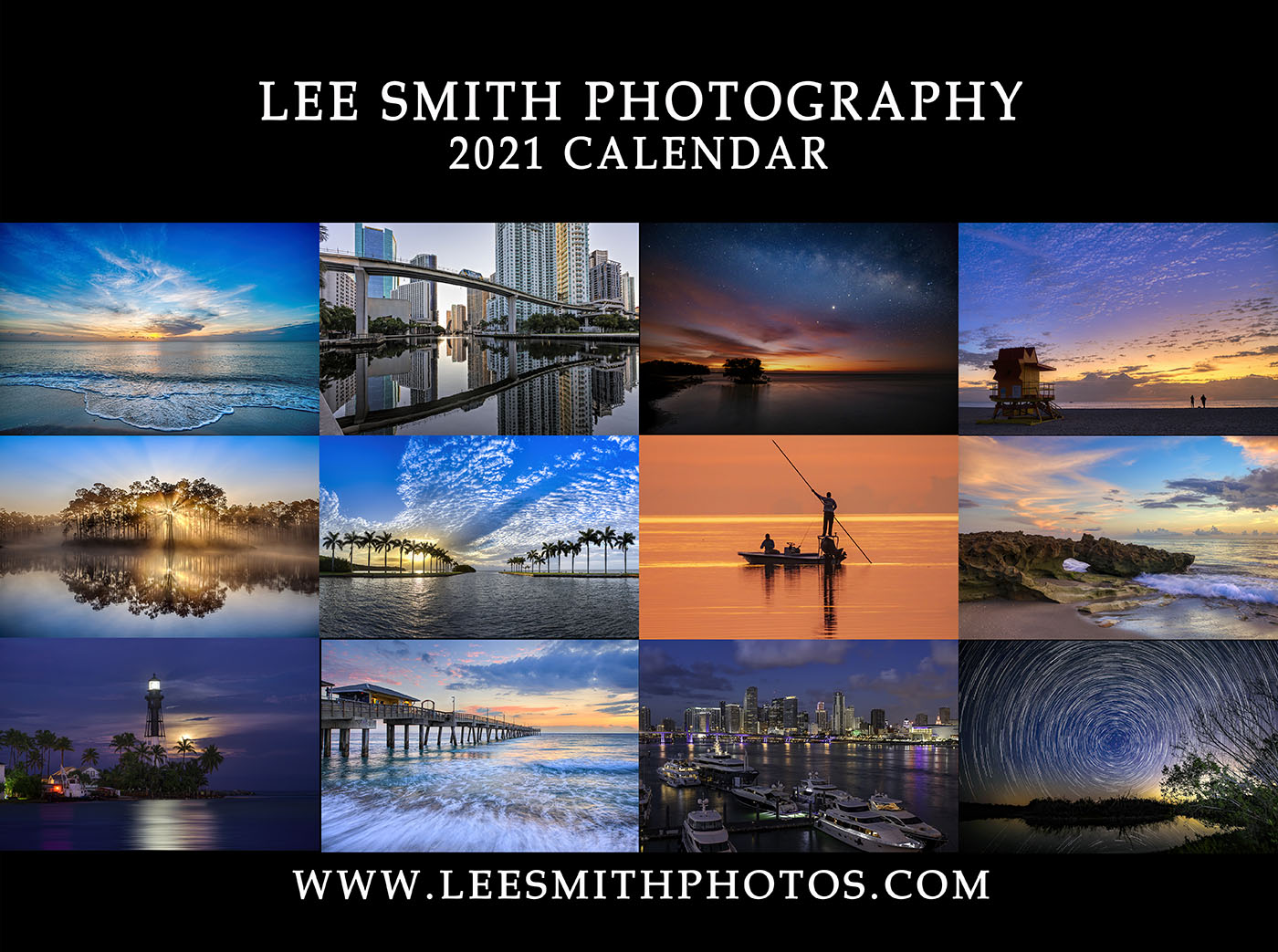 2021 Photography Calendar by Lee Smith