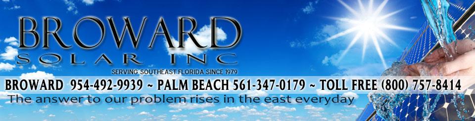 Broward Solar - South Florida Water Heating Contractors