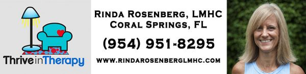 Broward Licensed Mental Health Counselor, Rinda Rosenberg