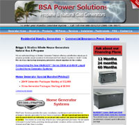 BSA Power Solutions - Broward & Palm Beach Whole House Emergency Generators